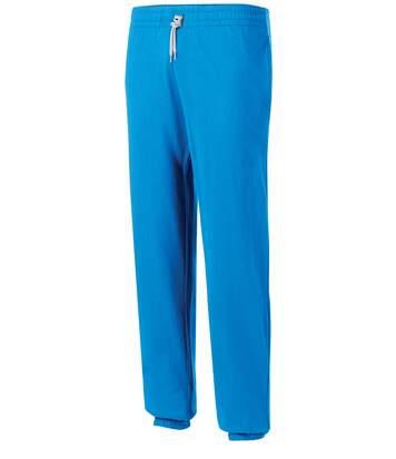 Pantalon de jogging en coton léger unisexe Red