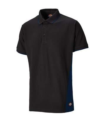 Dickies Mens Two Tone Piqu Polo Shirt (Black) - UTPC3460