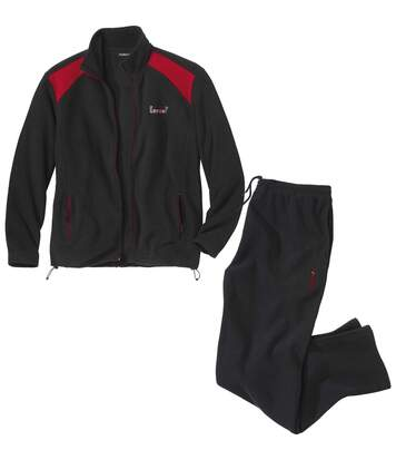 Jogging-Anzug Winter aus Fleece