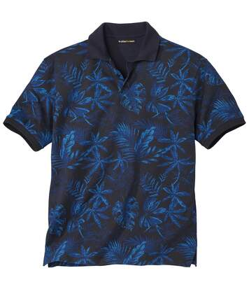 Poloshirt Exotic Blue Nature