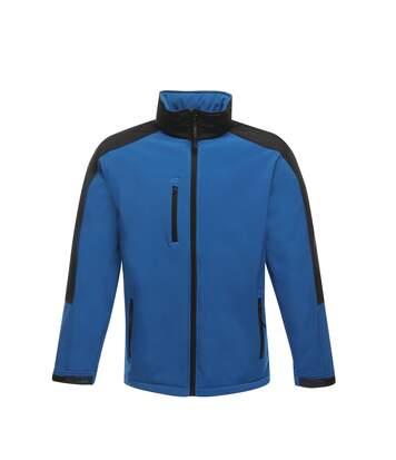 Regatta Mens Hydroforce 3-Layer Softshell Jacket (Wind Resistant, Water Repellent & Breathable) (Navy/Black) - UTRW1215