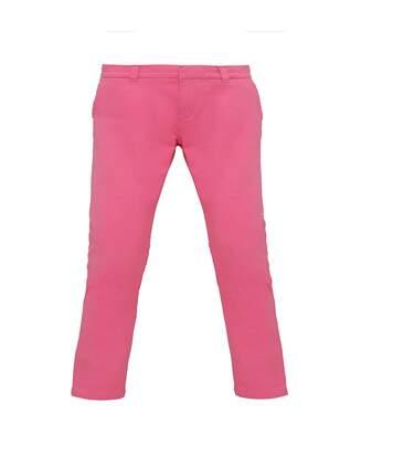 Asquith & Fox - Pantalon Style Chino - Femme (Rose) - UTRW4909