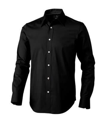 Elevate Hamilton Long Sleeve Shirt (Solid Black) - UTPF1837
