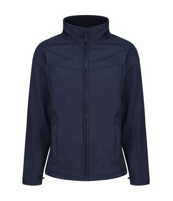Regatta Uproar Mens Softshell Wind Resistant Fleece Jacket (Navy/Navy) - UTRG1480