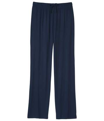 Women's Loose Fit Trousers - Navy