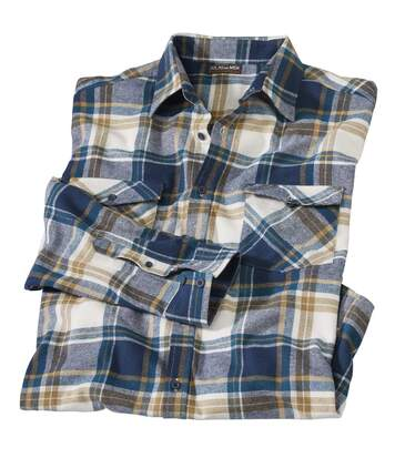 Kockovaná flanelová košeľa Countryside