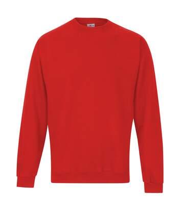 Rtxtra - Sweatshirt Uni Classique - Homme (Rouge) - UTRW1308