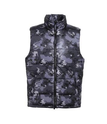 2786 Mens Plain Bodywarmer / Gilet Jacket (Camo Grey) - UTRW2509