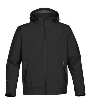 Stormtech Mens Oasis Softshell Jacket (Black) - UTRW4643