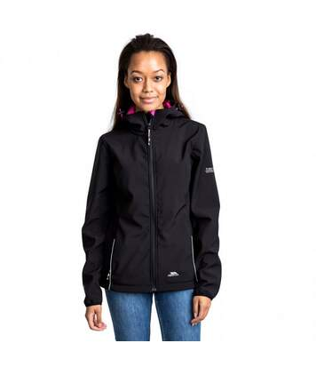 Trespass Womens/Ladies Suzanne Waterproof Jacket (Black) - UTTP3217