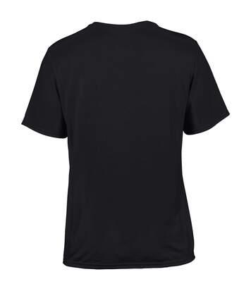 Gildan Mens Core Performance Sports Short Sleeve T-Shirt (Black) - UTBC1412