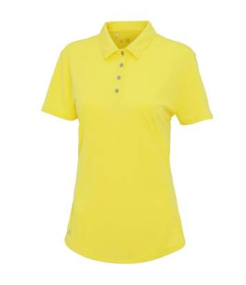 Polo performance ADIDAS manches courtes femme - AD029 - jaune