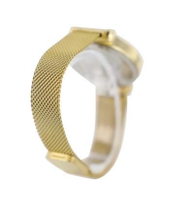 Coffret montre Femme GIORGIO bracelet Acier Doré