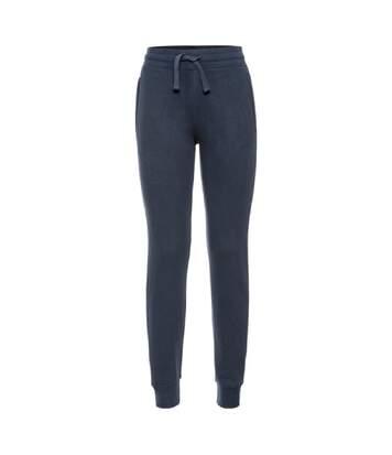 Pantalon jogging femme - R-268F - bleu marine