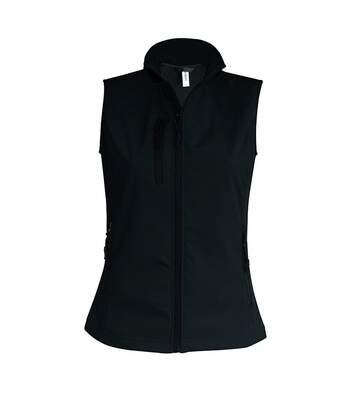 Bodywarmer softshell - gilet sans manches - K404 - noir - Femme