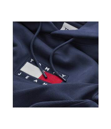 Sweat à capuche à logo patché  -  Tommy Jeans - Homme