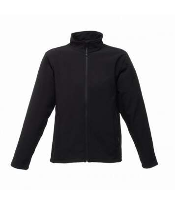 Regatta Reid Mens Softshell Wind Resistant Water Repellent Jacket (Black) - UTBC816