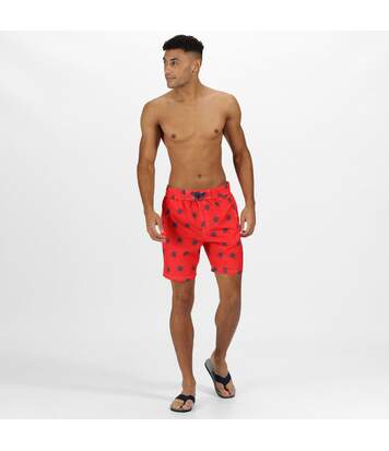 Regatta Mens Hadden II Quick Drying Board Shorts (Red) - UTRG4175