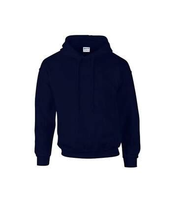 Gildan Heavyweight DryBlend Adult Unisex Hooded Sweatshirt Top / Hoodie (13 Colours) (Black) - UTBC461