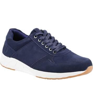Cotswold Mens Hankerton Suede Shoes (Navy) - UTFS7650