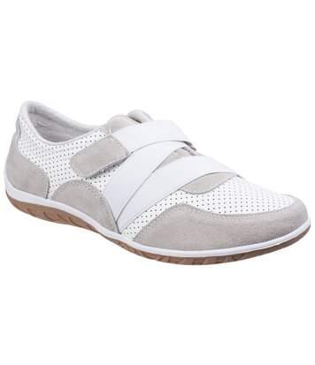 Fleet & Foster - Chaussures Confortables Bellini - Femme (Blanc) - UTFS5139