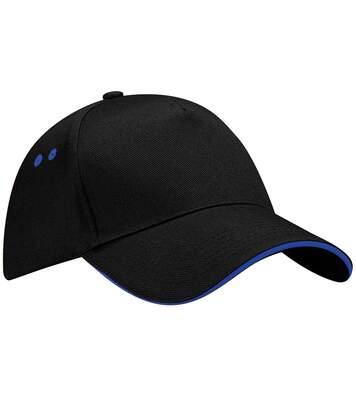 Beechfield - Casquette  - Adulte Unisexe (Lot De 2) (Noir/Bleu roi vif) - UTRW6700