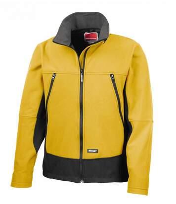 Veste softshell sport unisexe - R120X - jaune