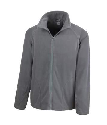 Result Core Mens Micron Anti Pill Fleece Jacket (Charcoal) - UTBC852