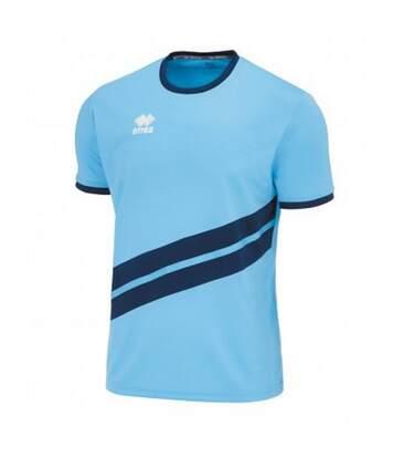 Errea - T-Shirt De Sport Jaro - Mixte (Bleu ciel / bleu marine) - UTPC3262