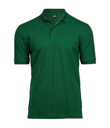 Tee Jays Mens Luxury Stretch Short Sleeve Polo Shirt (Forest Green) - UTBC3305