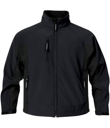 Stormtech Mens Bonded Teflon® DWR Wind/Water Repellent Jacket (Navy/Black) - UTBC1168