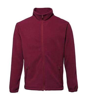 2786 Mens Full Zip Fleece Jacket (280 GSM) (Burgundy) - UTRW2506
