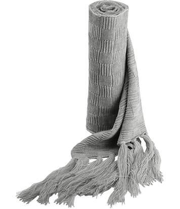 Echarpe tricot jacquard