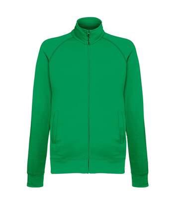 Fruit Of The Loom Mens Lightweight Full Zip Sweatshirt Jacket (Kelly Green) - UTRW4500