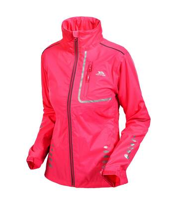 Trespass Womens/Ladies Fairing Waterproof Active Jacket (Hi-Vis Pink) - UTTP174