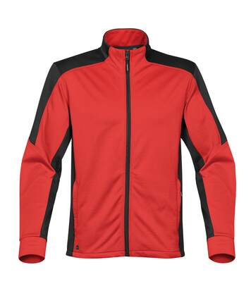 Stormtech Mens Chakra Fleece Jacket (Bright Red/ Black) - UTBC3880