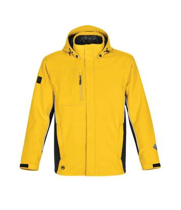 Stormtech Mens Atmosphere 3-in-1 Performance System Jacket (Waterproof & Breathable) (Cyber Yellow/Black) - UTBC3074