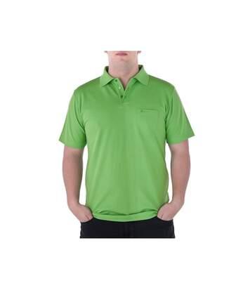 Polo piqué vert clair