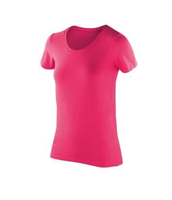 Spiro Impact - T-Shirt À Manches Courtes - Femme (Rose) - UTPC2621