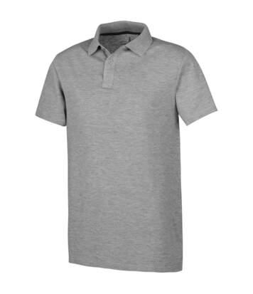 Elevate Primus Short Sleeve Polo (White) - UTPF1829