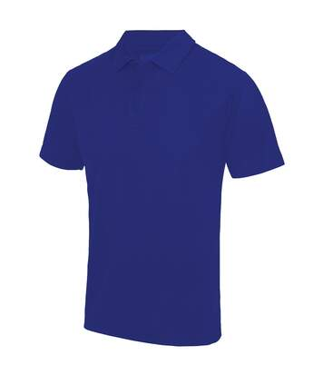 Just Cool Mens Plain Sports Polo Shirt (Hot Pink) - UTRW691