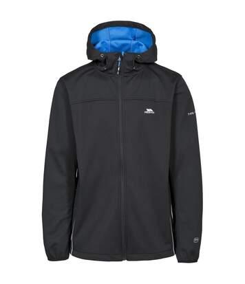 Trespass Mens Zeek Waterproof Softshell Jacket (Black) - UTTP3335