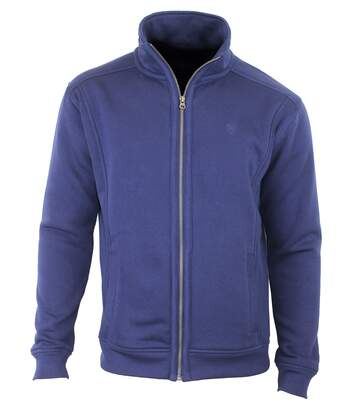 VE4001 VESTE MOLLETON FULL ZIP MARINE