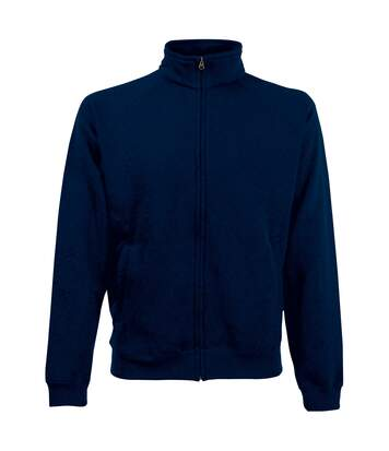 Fruit Of The Loom Mens Sweatshirt Jacket (Deep Navy) - UTBC1375