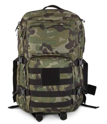 Sac à dos style army fixations MOLLE - KI0162 - vert olive camouflage militaire