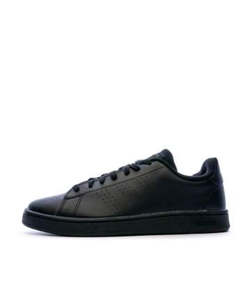 Baskets Noires Homme Adidas Advantage