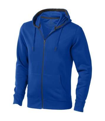 Elevate Mens Arora Hooded Full Zip Sweater (Blue) - UTPF1850