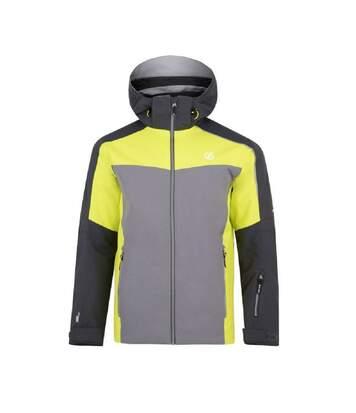 Dare 2b Mens Intermit Ski Jacket (XL) (Ebony/Citron) - UTRG4834