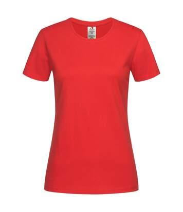 Stedman - T-Shirt Classique - Femme (Rouge) - UTAB458