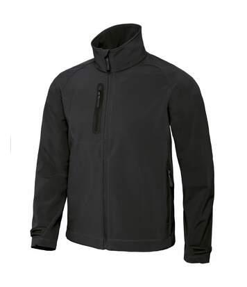 B&C Mens X-Lite 3 Layer Softshell Performance Jacket (Black) - UTRW3036